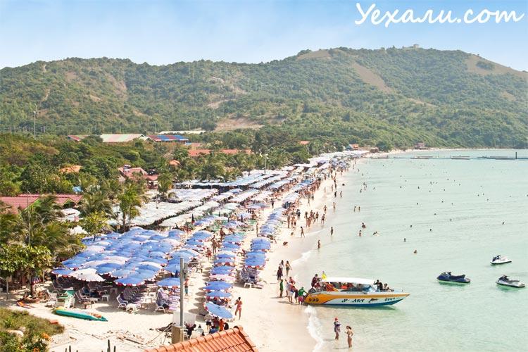 Фото Тайланда, пляж на острове