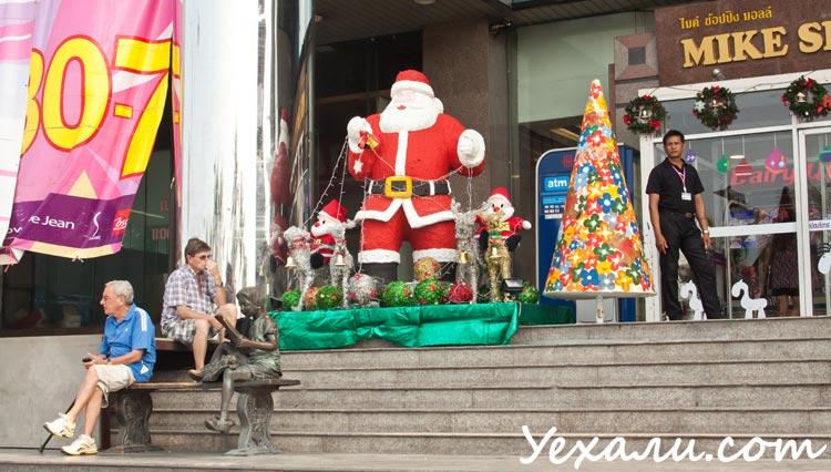 Как празднуют Новый год в Тайланде? На фото - Паттайя.