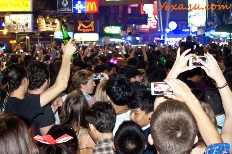 Новый год в Таиланде, Бангкок