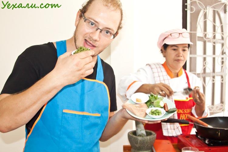 Cooking master class Pattaya