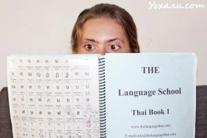 Thai Language book
