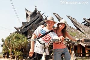 Pattaya bicycle tour Wooden House