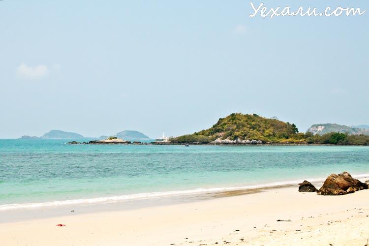 Фото пляжа Хат Нанг Рам около Паттайи