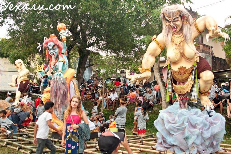 Балийский Новый год Ньепи 2016