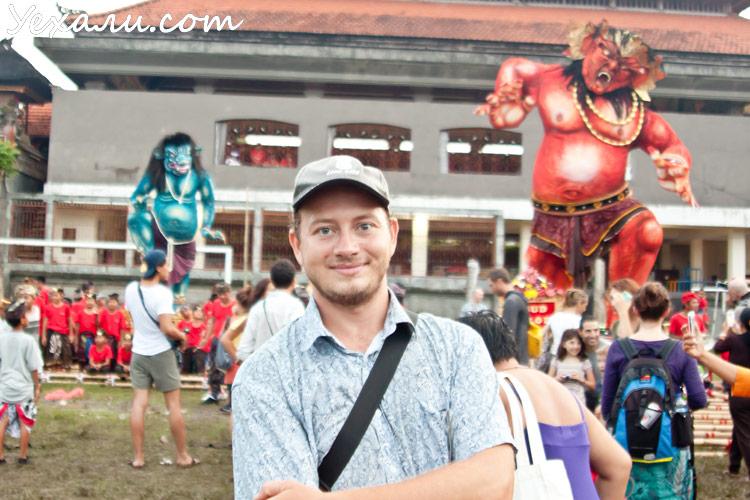 Балийский Новый год Ньепи