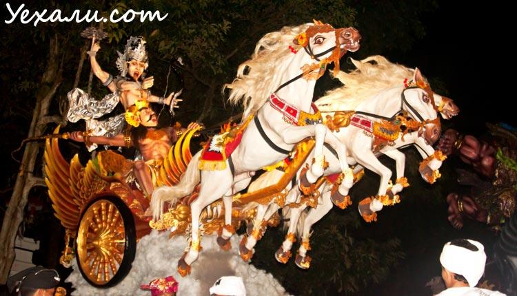 Балийский Новый год Ньепи 2015