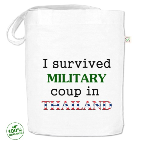 "Сумка ""Я пережил военный переворот в Тайланде"""