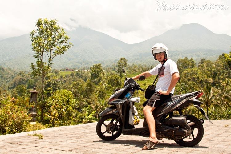 Bali Jati luwih motorbike