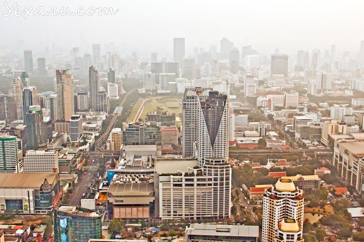 Фото небоскребов Бангкока