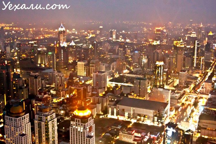 Фото ночного Бангкока