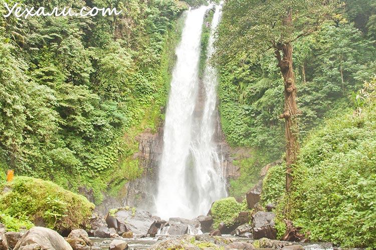 Достопримечательности острова Бали: водопад Гитгит