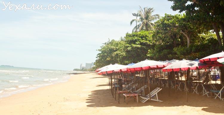 Пляж Паттайи (Джомтьен)