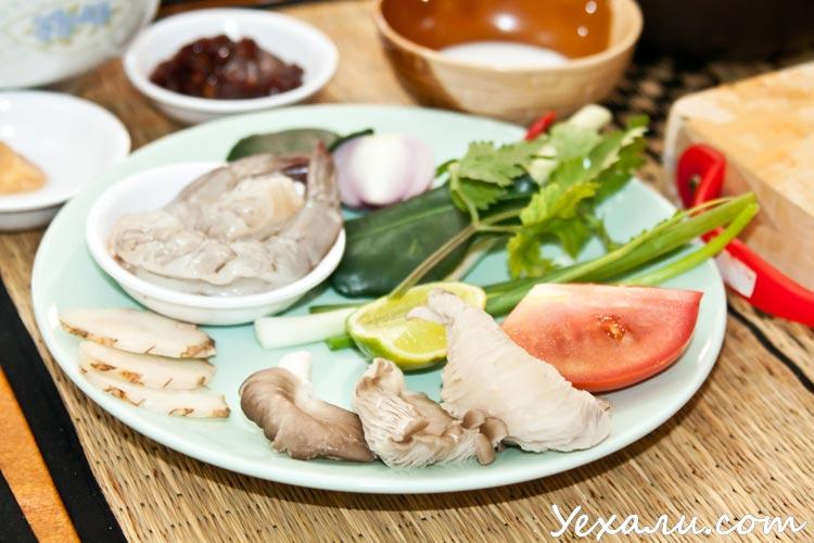 Тайский суп Том ям: рецепт, ингредиенты