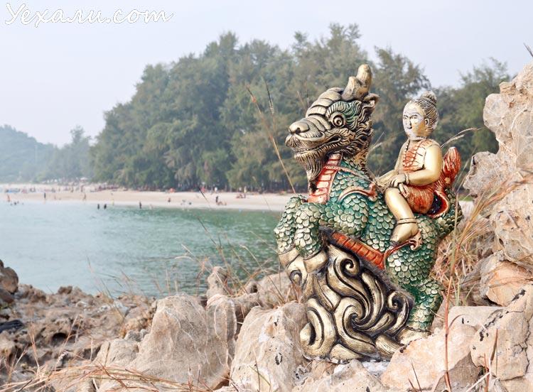 Пляж танцующей девушки - самый чистый в Паттайе