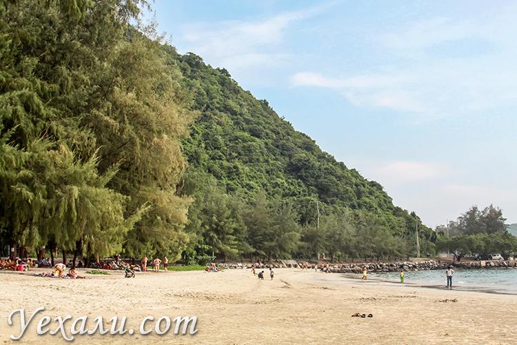 Пляж танцующей девушки (Хат Нанг Рам): лучший пляж Паттайи.
