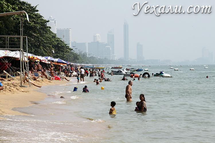 Пляж Джомтьен, фото