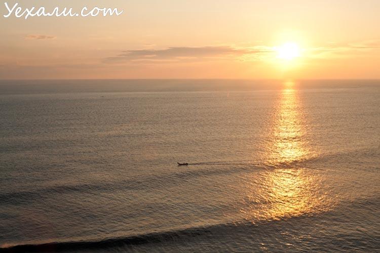 Лучшие фото заката на Бали