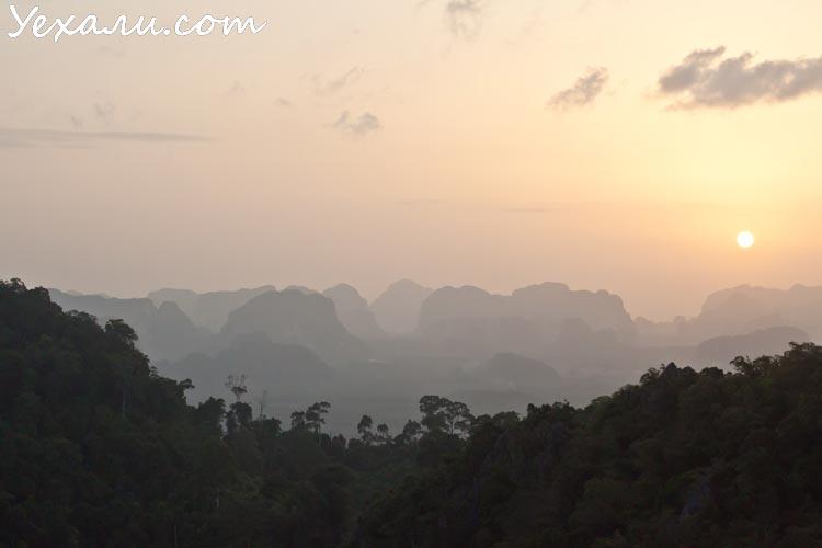Лучшие фото заката: Таиланд, Краби