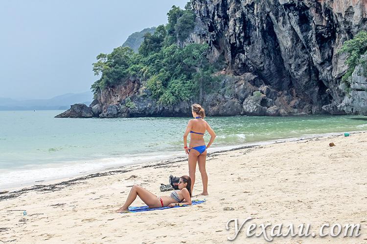 Пляж Прананг в Краби.