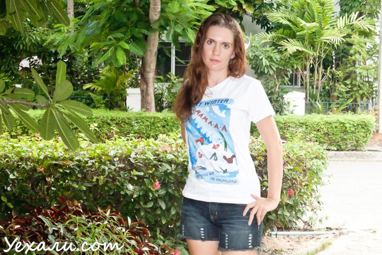 год в тайланде футболки таиланд