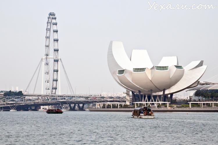 Интересные факты о Сингапуре. Singapore Flyer