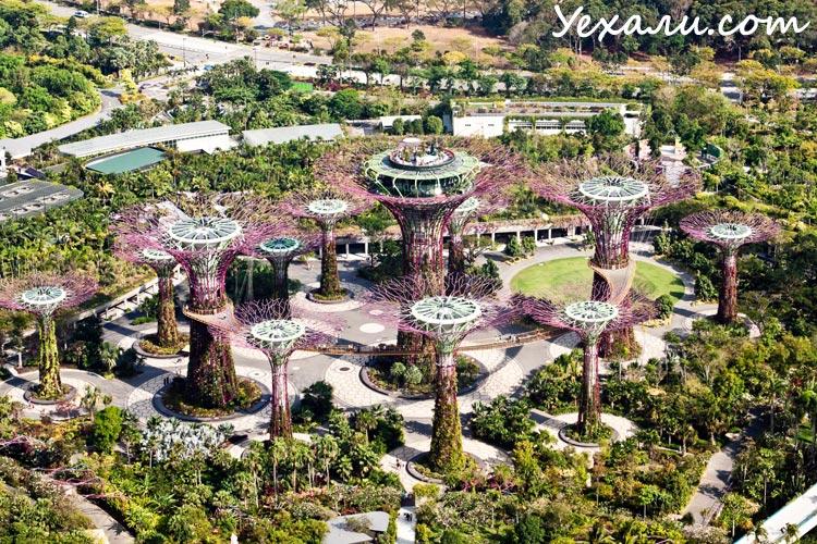 Интересные факты о Сингапуре: Сады у Залива