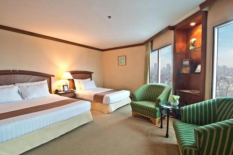 Лучшие отели Бангкока на Новый год: Baiyoke Sky Hotel.