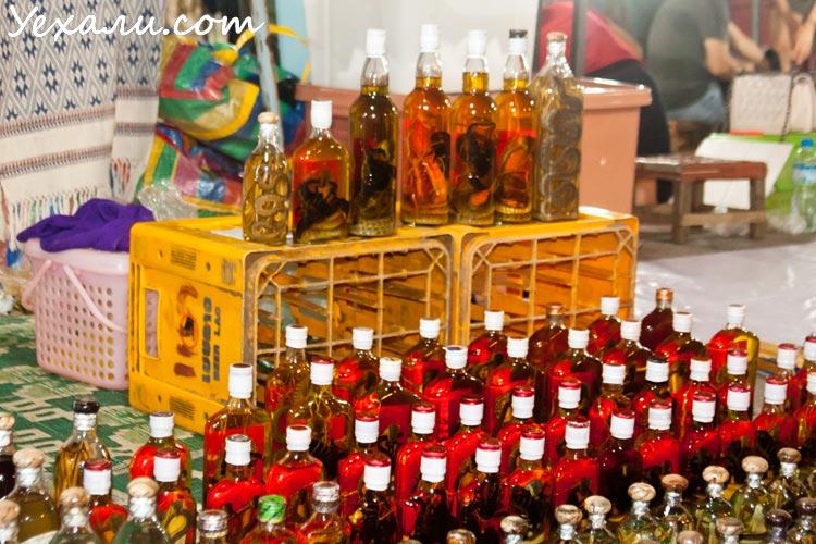 Достопримечательности Луанг Прабанга: ночной рынок