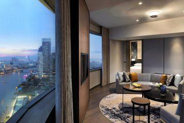 Лучшие отели Бангкока, Таиланд. На фото: Millennium Hilton Bangkok.