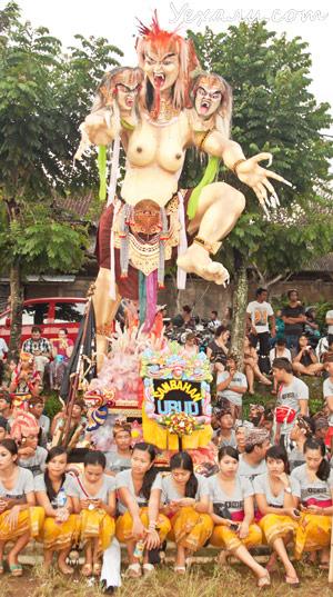 Ньепи, балийский Новый год