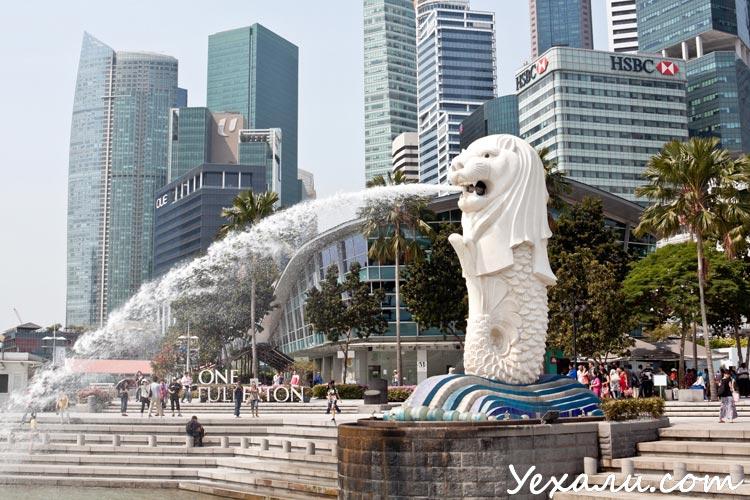 Сингапур, Мерлайон
