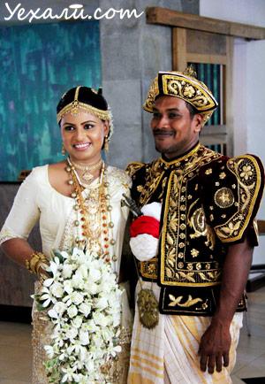 Шри Ланка, свадьба