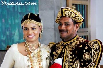 Шри-ланкийская свадьба