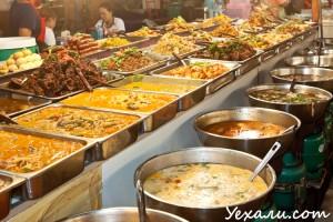 Ночной рынок в Паттайе