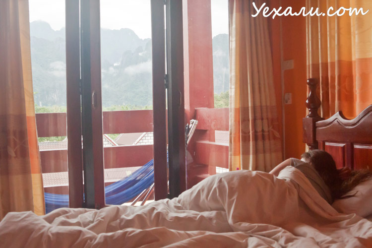 Отдых в Лаосе: Ванг Вьенг, отель