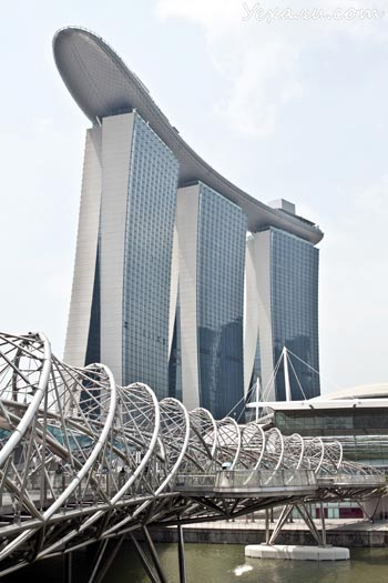 marina bay sands фото