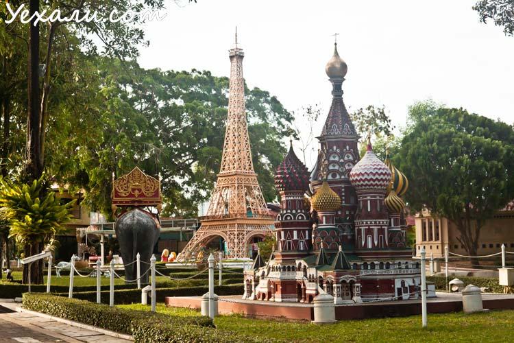Как отдохнуть в Паттайе недорого: парк Мини Сиам