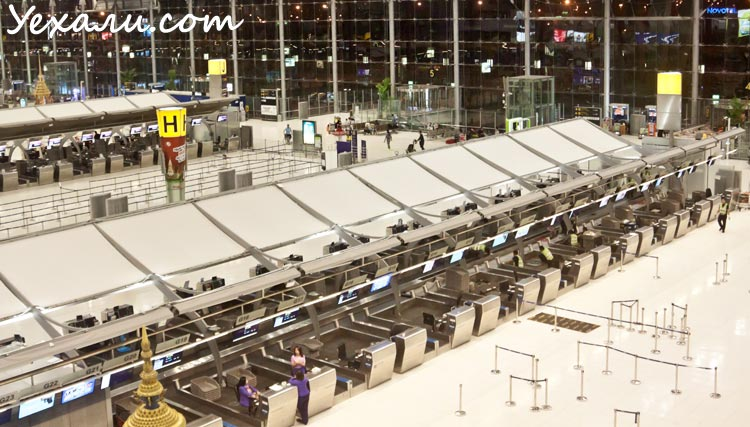 Как отдохнуть в Паттайе: аэропорт Suvarnabhumi