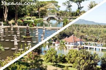 Водный дворец Тиртаганга и Таман Уджунг
