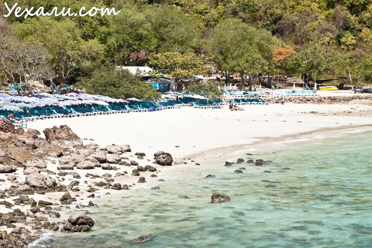 Sangwan Beach, лучший пляж острова Ко Лан