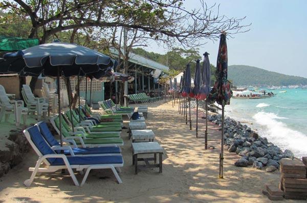 Пляж Thonglang, Ко Лан, Паттайя