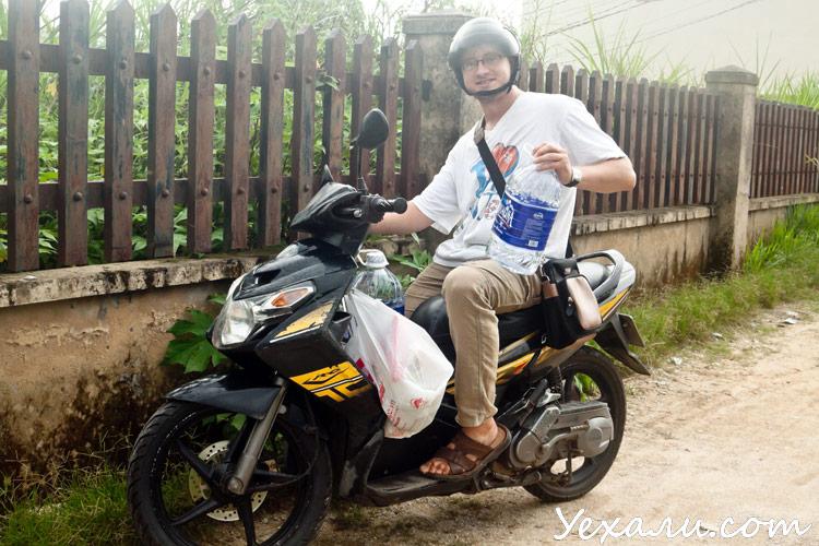 Наш мотобайк во Вьетнаме