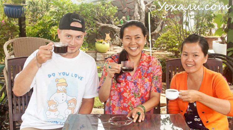 Приготовление вьетнамского кофе