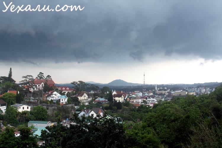 Сезон дождей в Далате