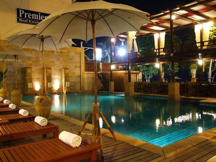 Самые популярные отели пляжа Джомтьен на первой линии (Тайланд): Sarita Chalet & Spa Hotel.