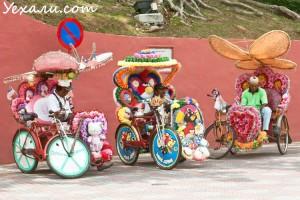 Цены в Малайзии: велорикша в Малакке