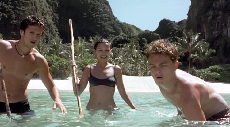 Фильм Пляж с Ди Каприо.