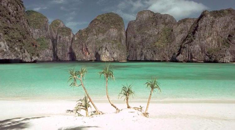 Фильм Пляж с Ди Каприо: Майя Бэй