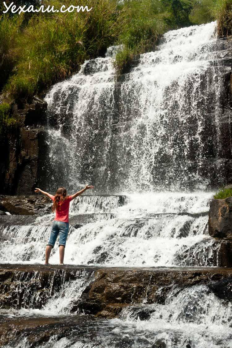 Самые красивые водопады Далата: Понгур