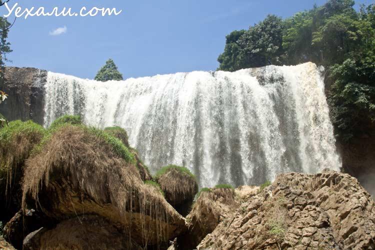 Водопады Далата: Слоновий водопад